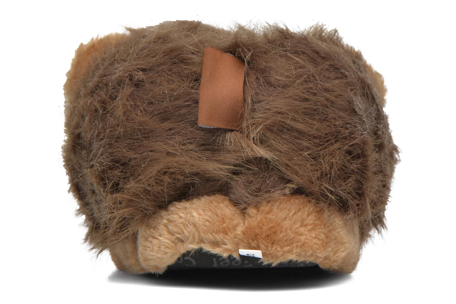 Slippers Sleeperz Lions Brown view from the right