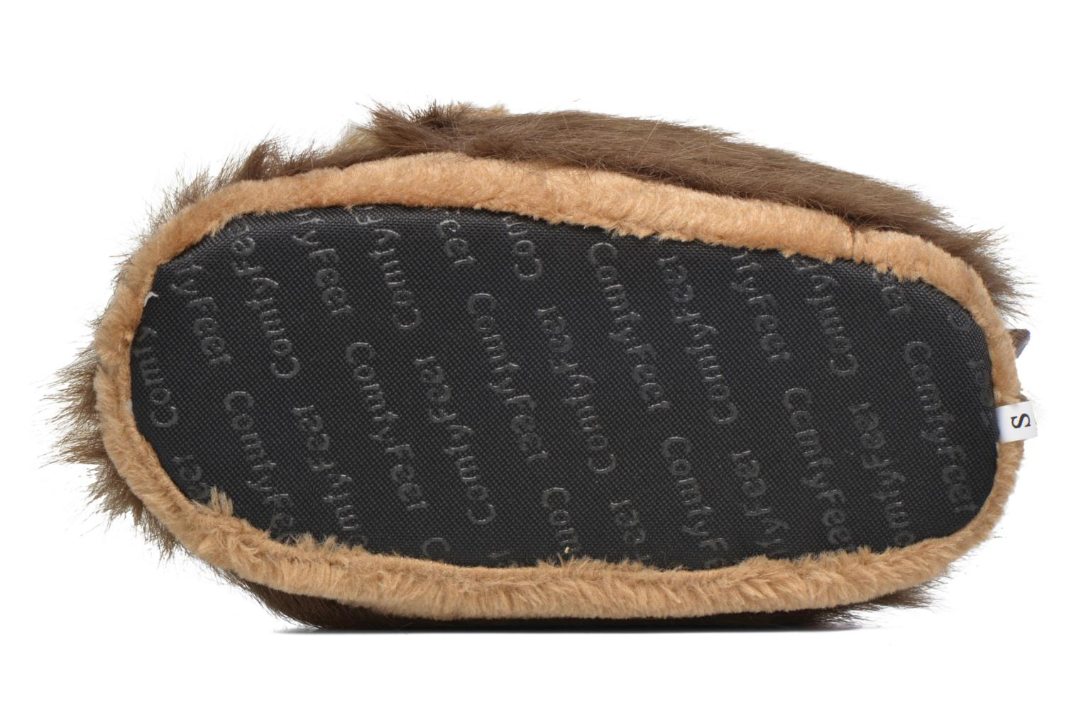 Slippers Sleeperz Lions Brown view from above