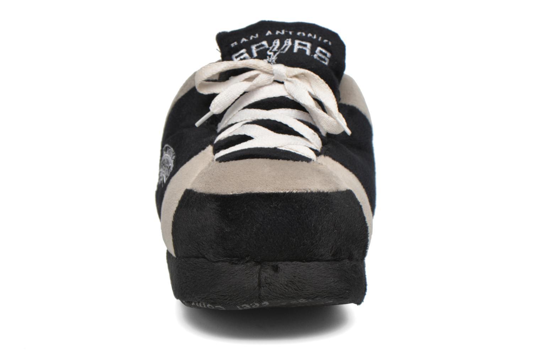 Hausschuhe Sleeperz San Antonio Spurs K grau schuhe getragen