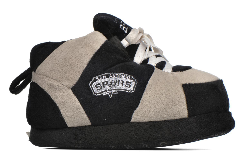 Hausschuhe Sleeperz San Antonio Spurs K grau ansicht von hinten
