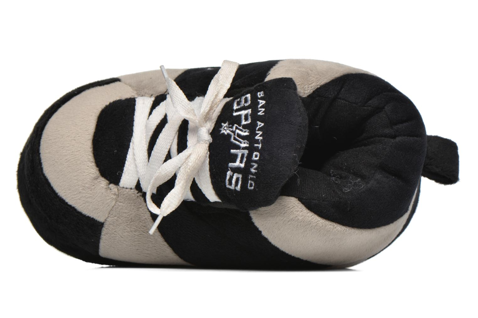 Slippers Sleeperz San Antonio Spurs K Grey view from the left