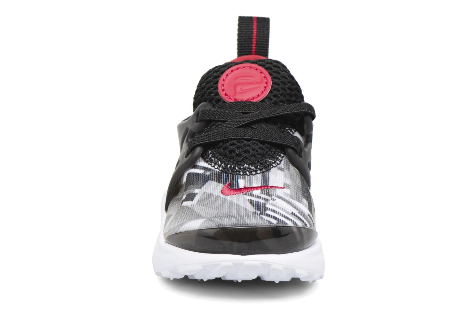 Nike Presto Print (Td) Black/Gym Red-Wolf Grey-White