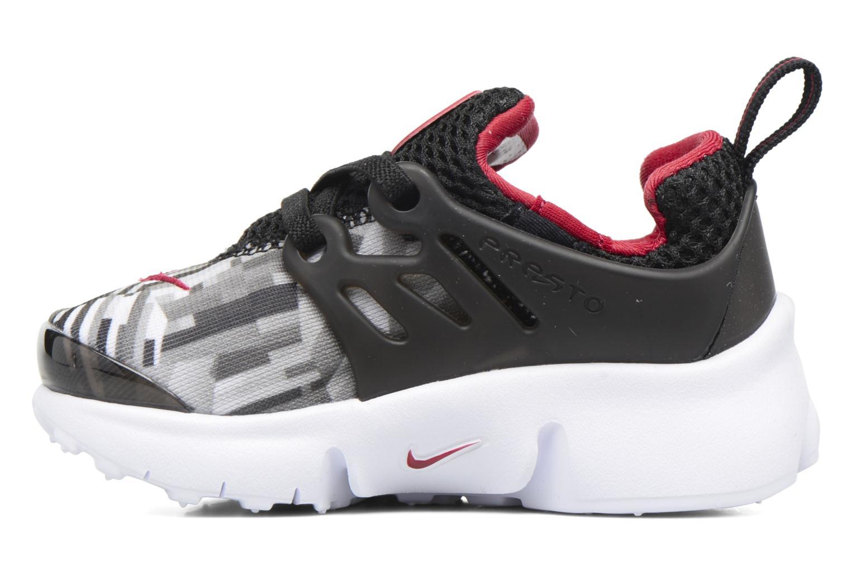 Sneaker Nike Nike Presto Print (Td) schwarz ansicht von vorne