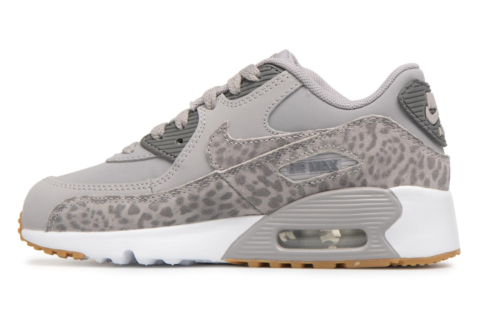 Baskets Nike Nike Air Max 90 Se Ltr (Ps) Gris vue face