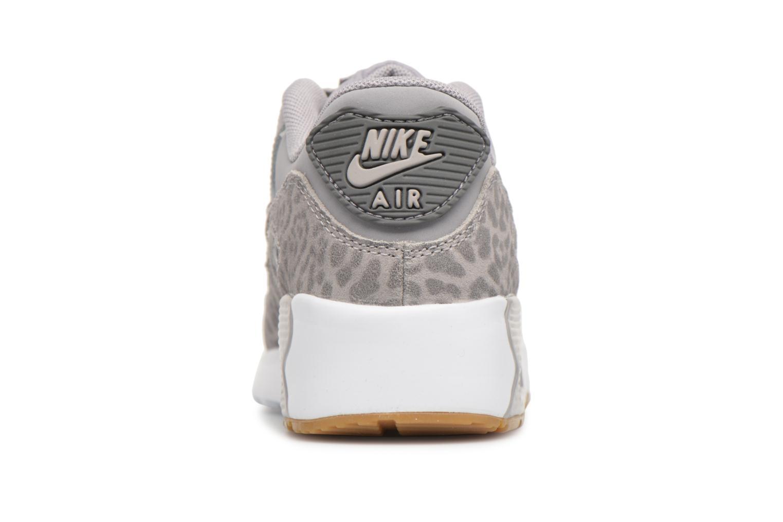 Baskets Nike Nike Air Max 90 Se Ltr (Ps) Gris vue droite