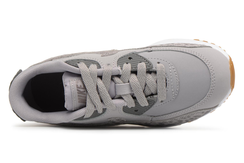 Baskets Nike Nike Air Max 90 Se Ltr (Ps) Gris vue gauche