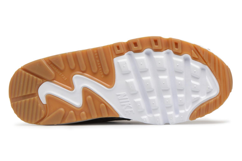 Baskets Nike Nike Air Max 90 Se Ltr (Ps) Gris vue haut
