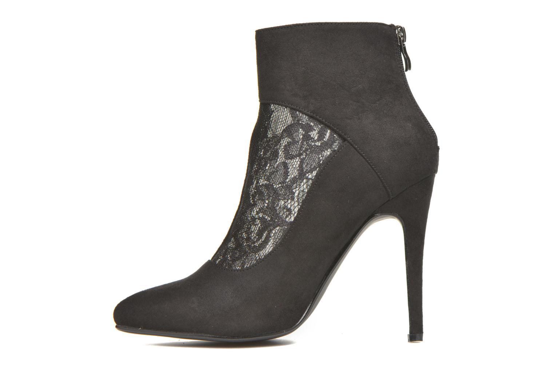 Bottines et boots Molly Bracken Rosie Noir vue face