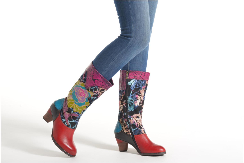 Bottines et boots Laura Vita Anabelle05 Multicolore vue bas / vue portée sac