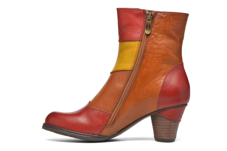 Bottines et boots Laura Vita Anabelle08 Rouge vue face