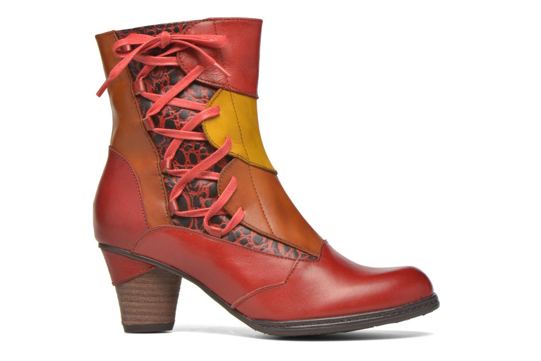 Bottines et boots Laura Vita Anabelle08 Rouge vue derrière