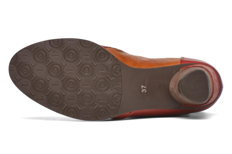 Bottines et boots Laura Vita Anabelle08 Rouge vue haut