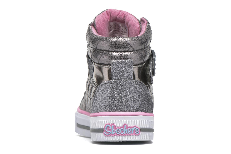 Sneakers Skechers Shuffles Sweetheart Sole Argento immagine destra