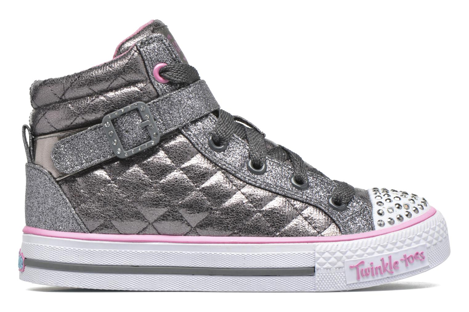 Sneakers Skechers Shuffles Sweetheart Sole Argento immagine posteriore