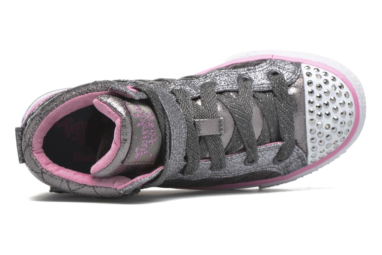 Sneakers Skechers Shuffles Sweetheart Sole Argento immagine sinistra