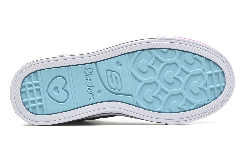 Sneakers Skechers Shuffles Sweetheart Sole Argento immagine dall'alto