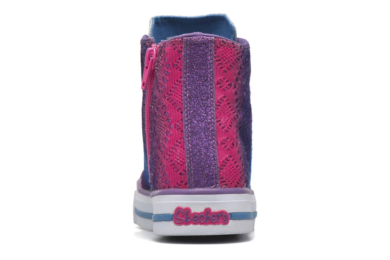 Sneaker Skechers Shuffles Magic Madness lila ansicht von rechts