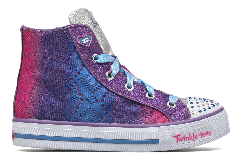 Sneaker Skechers Shuffles Magic Madness lila ansicht von hinten
