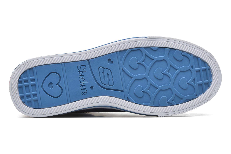 Sneaker Skechers Shuffles Magic Madness lila ansicht von oben