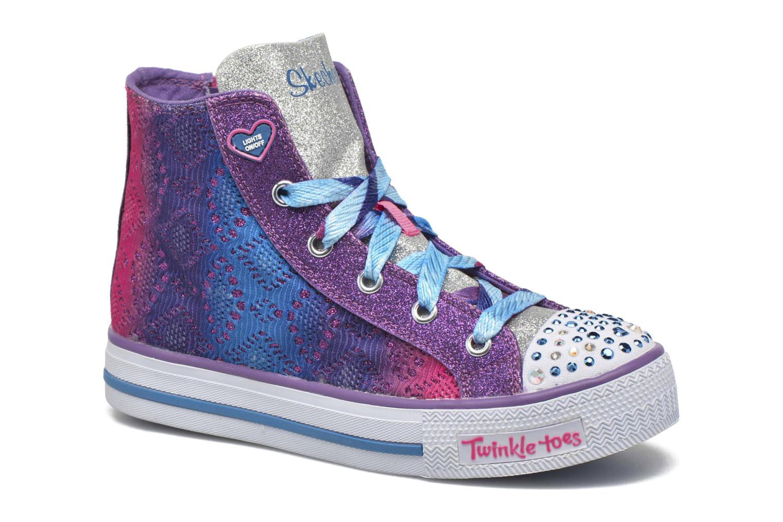 Sneaker Skechers Shuffles Magic Madness lila detaillierte ansicht/modell