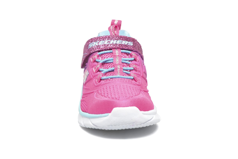 Sneaker Skechers Swirly Girl Shine Vibe rosa schuhe getragen