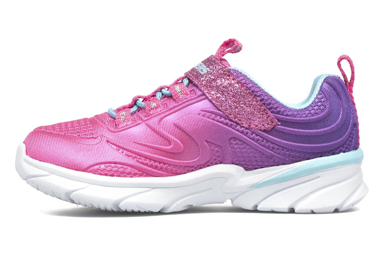 Sneaker Skechers Swirly Girl Shine Vibe rosa ansicht von vorne