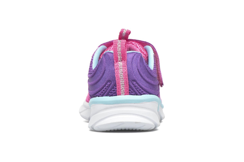 Sneaker Skechers Swirly Girl Shine Vibe rosa ansicht von rechts
