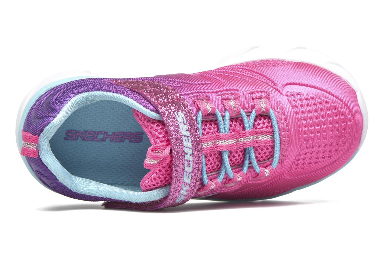 Sneaker Skechers Swirly Girl Shine Vibe rosa ansicht von links