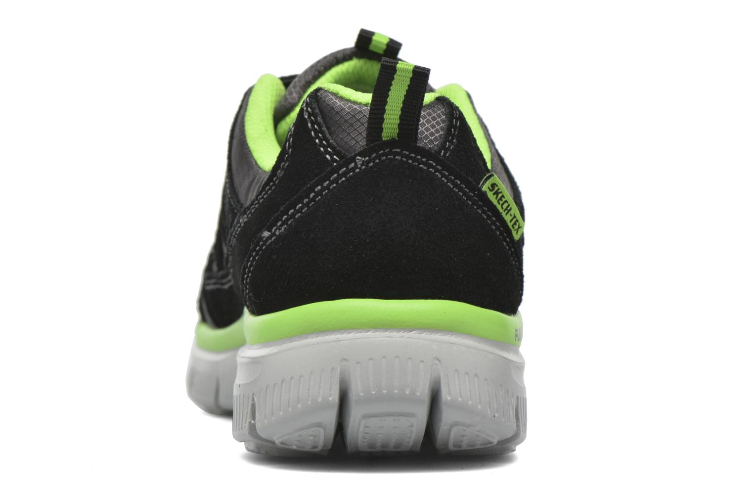 Trainers Skechers Flex Advantage Master Mind Black view from the right