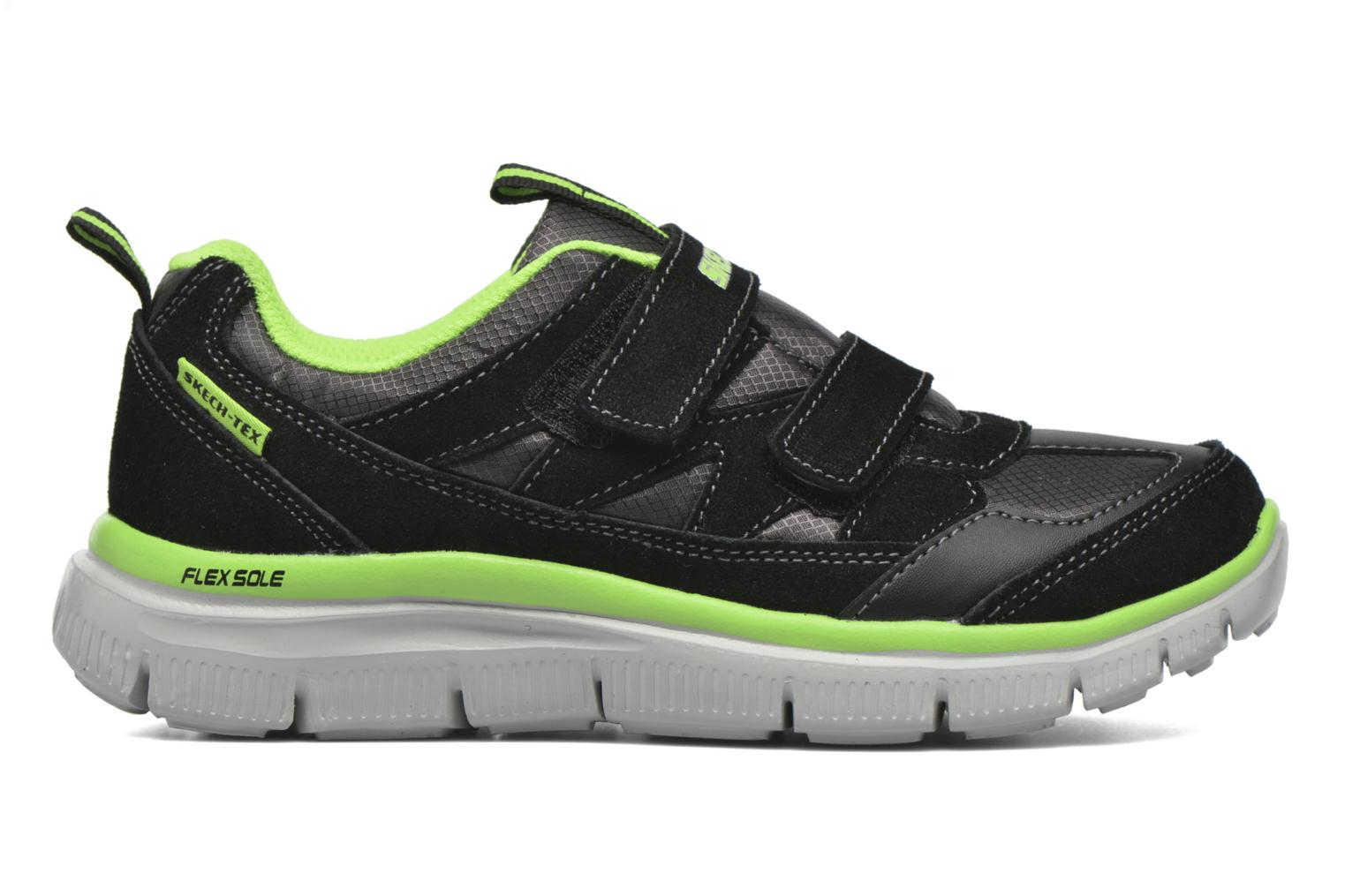 Trainers Skechers Flex Advantage Master Mind Black back view