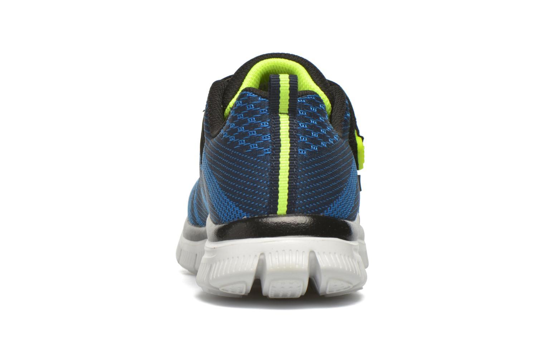 Sneaker Skechers Flex Advantage Master Mind blau ansicht von rechts