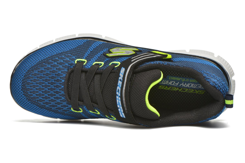 Sneaker Skechers Flex Advantage Master Mind blau ansicht von links