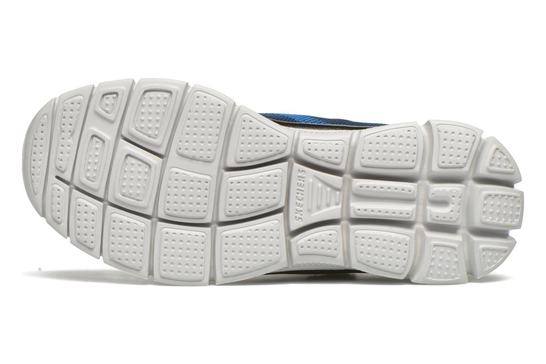Sneaker Skechers Flex Advantage Master Mind blau ansicht von oben