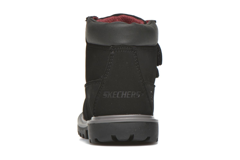 Stiefeletten & Boots Skechers Mecca Brazenly schwarz ansicht von rechts