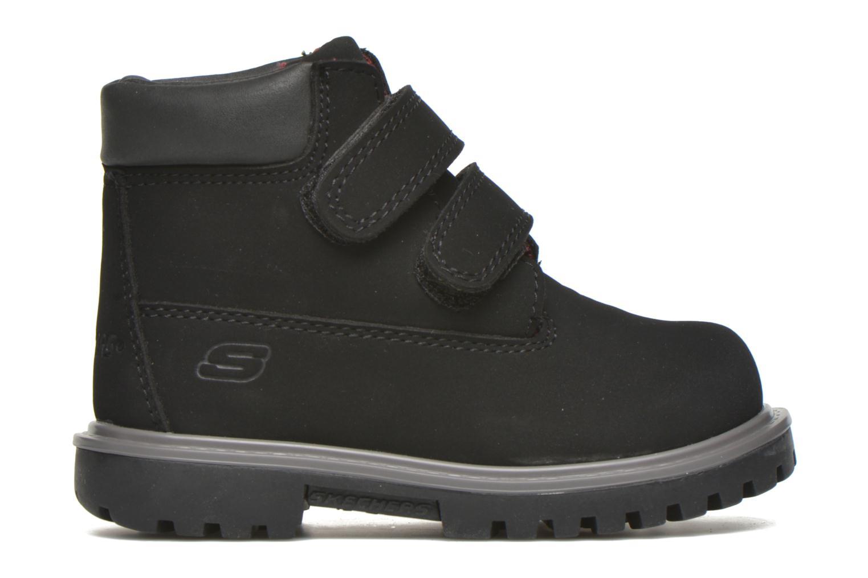 Stiefeletten & Boots Skechers Mecca Brazenly schwarz ansicht von hinten