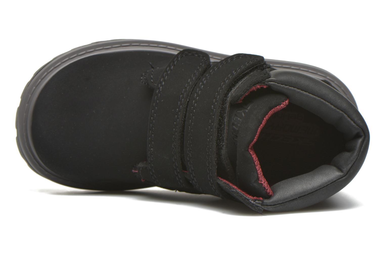 Stiefeletten & Boots Skechers Mecca Brazenly schwarz ansicht von links