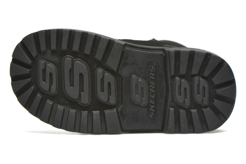 Stiefeletten & Boots Skechers Mecca Brazenly schwarz ansicht von oben