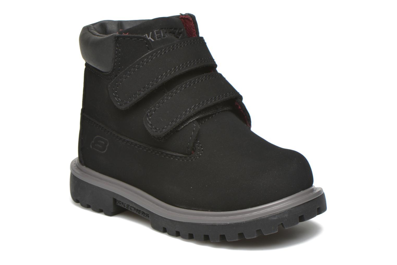 Stiefeletten & Boots Skechers Mecca Brazenly schwarz detaillierte ansicht/modell