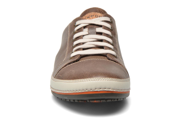 Baskets Rockport Harborpoint Lace Marron vue portées chaussures