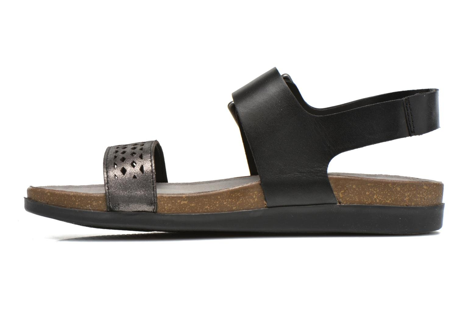 Romilly Buckled Black