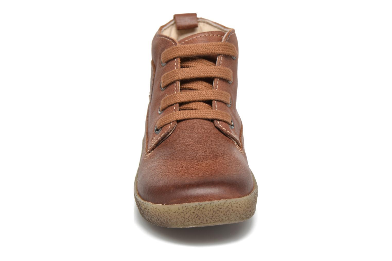 Chaussures à lacets Naturino Falcotto 1196 Marron vue portées chaussures