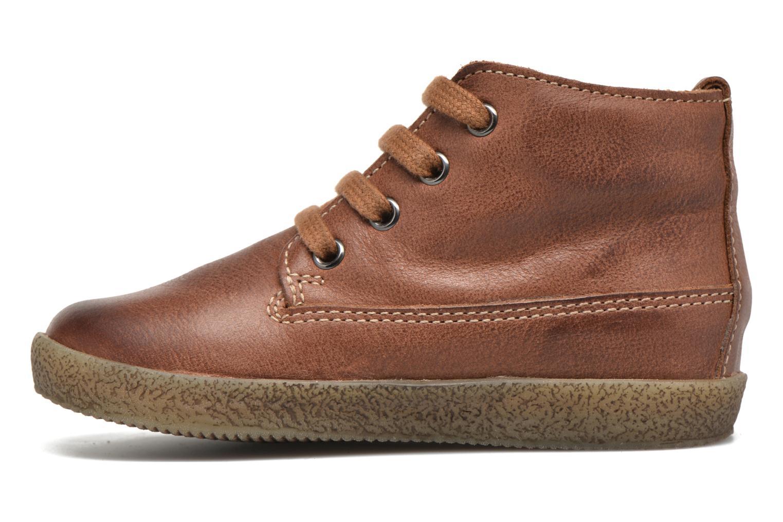 Chaussures à lacets Naturino Falcotto 1196 Marron vue face