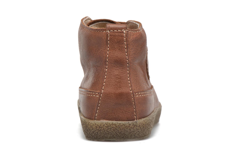 Chaussures à lacets Naturino Falcotto 1196 Marron vue droite