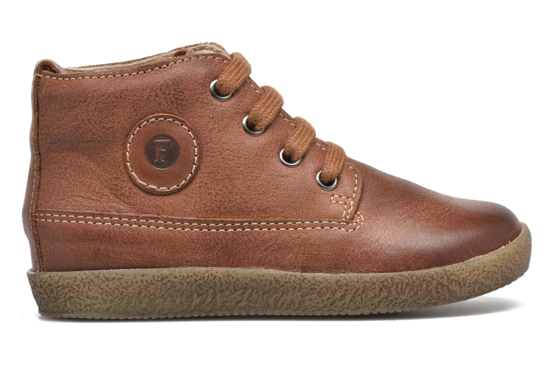 Chaussures à lacets Naturino Falcotto 1196 Marron vue derrière
