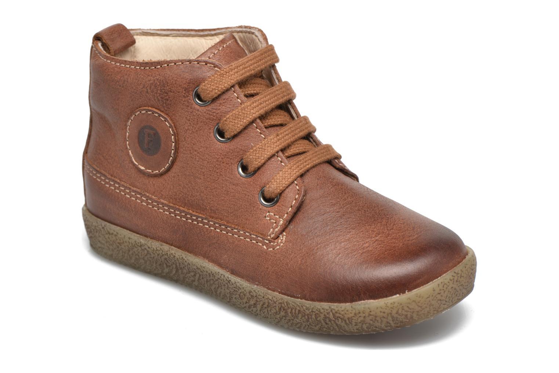Chaussures à lacets Naturino Falcotto 1196 Marron vue détail/paire