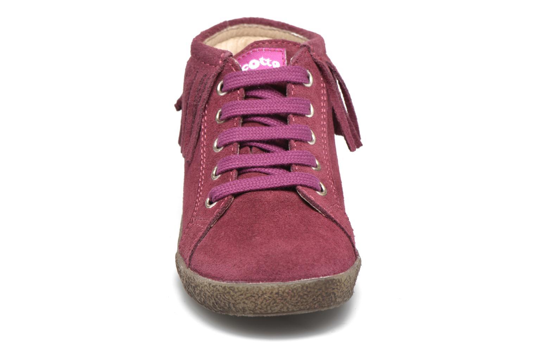 Zapatos con cordones Naturino Falcotto 4175 Vino vista del modelo