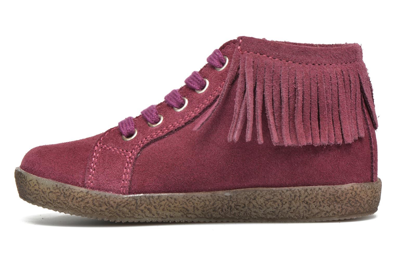 Zapatos con cordones Naturino Falcotto 4175 Vino vista de frente