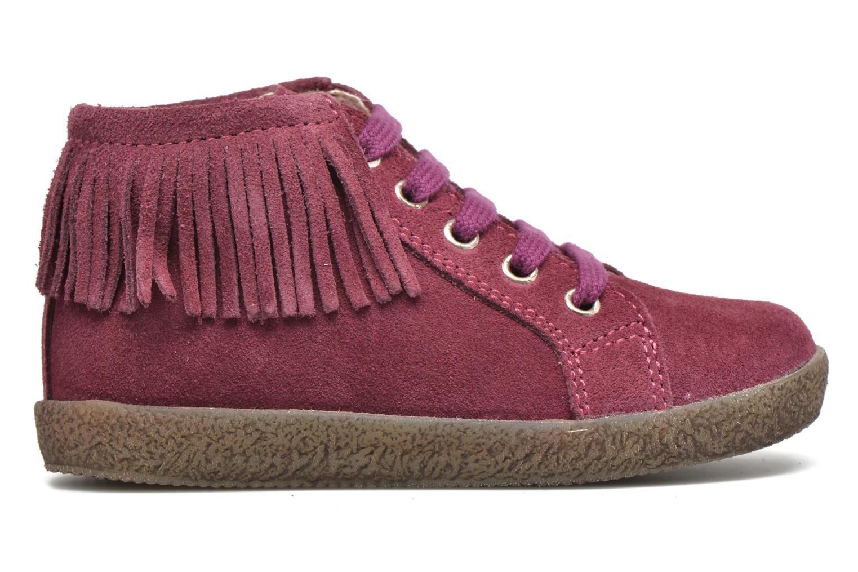 Zapatos con cordones Naturino Falcotto 4175 Vino vistra trasera