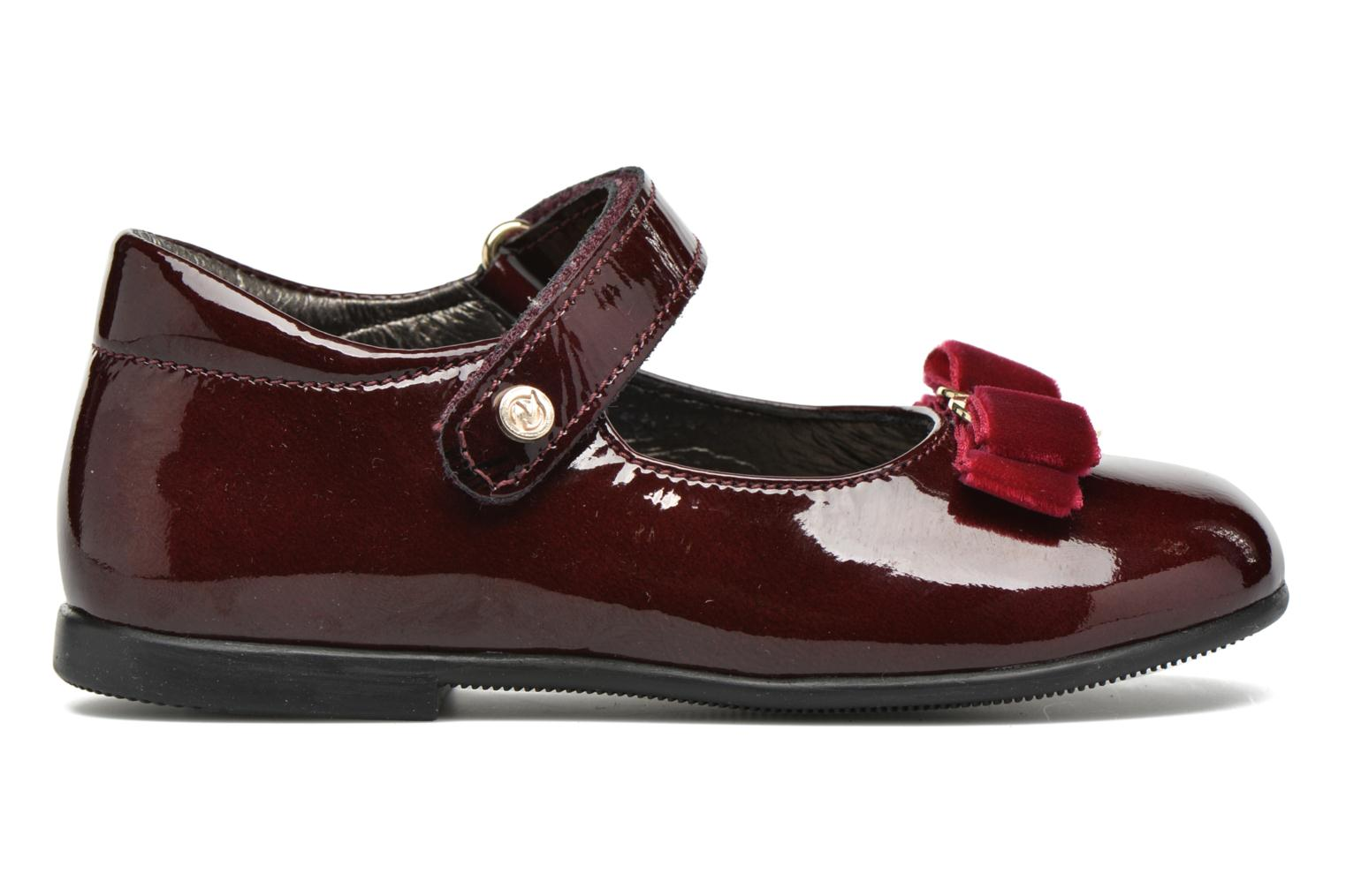 Ballet pumps Naturino Naturino 4891 Burgundy back view