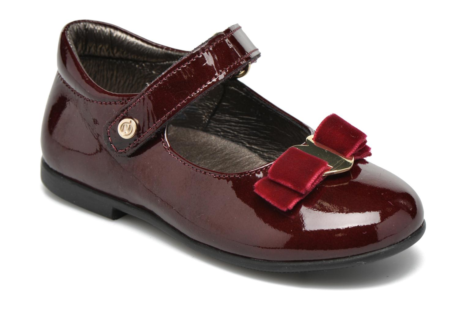 Ballet pumps Naturino Naturino 4891 Burgundy detailed view/ Pair view